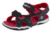 Timberland Adventure Seeker Sandals Youth 2-Strap Black/Red